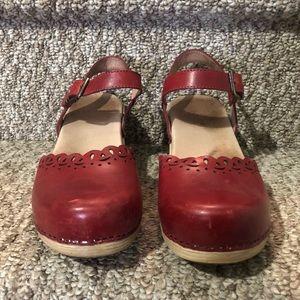 Dansko Shoes - Dansko Marta Mary Jane in Red
